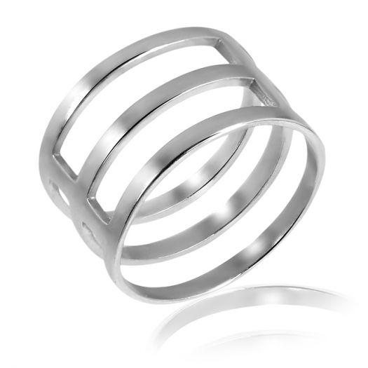 Срібна каблучка Трініті