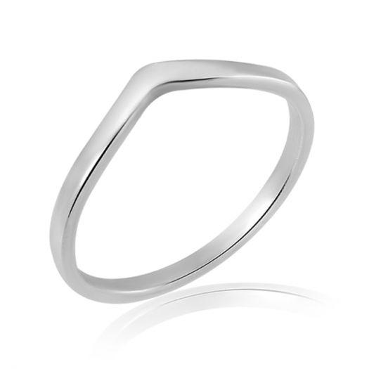 Срібна каблучка на середню фалангу Удача