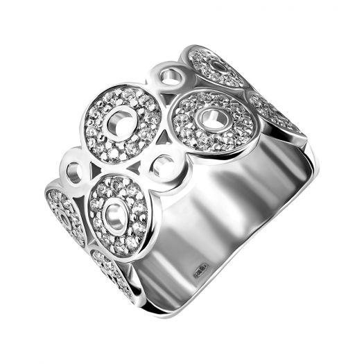 Срібна каблучка з камінням Меріан