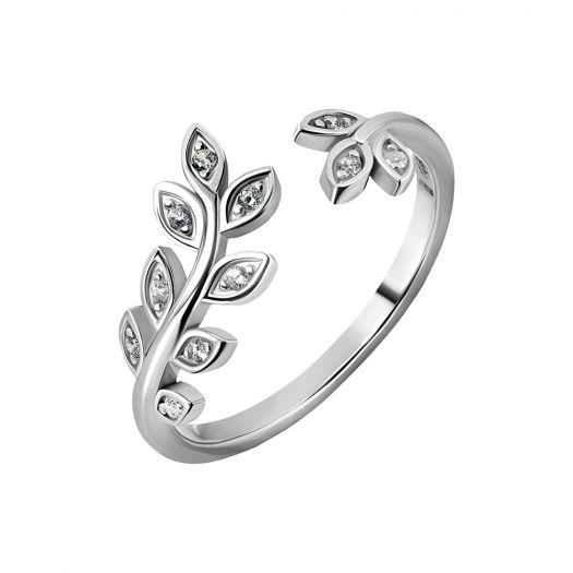 Срібна каблучка з камінням Нерія