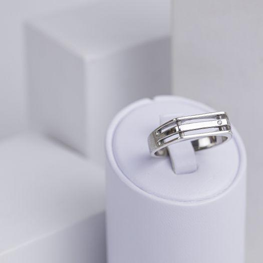 Серебряный перстень мужской Возможность