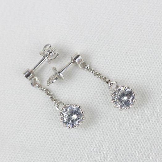 Срібні сережки Августина