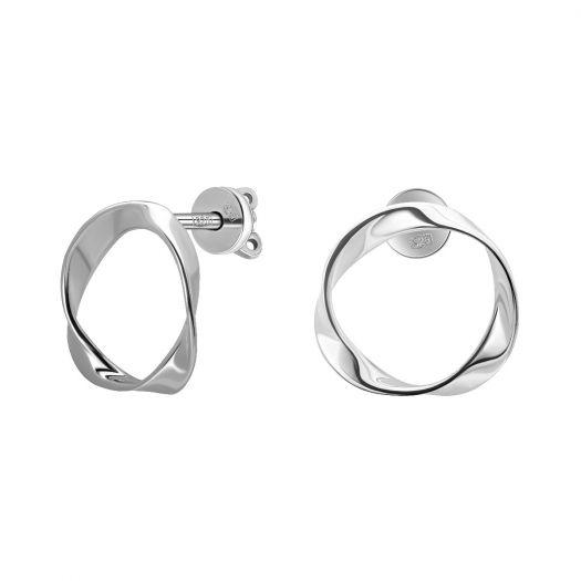 Срібні сережки Портал