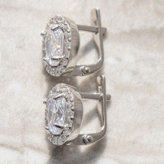 Серебряные серьги Астрид