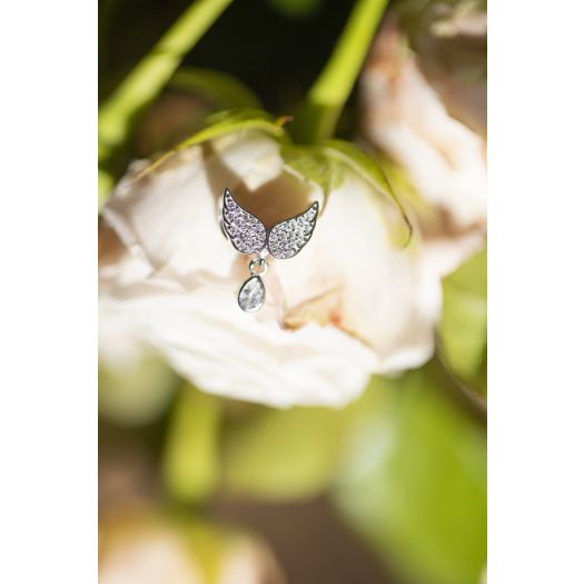 Срібний підвіс Ангельські крила
