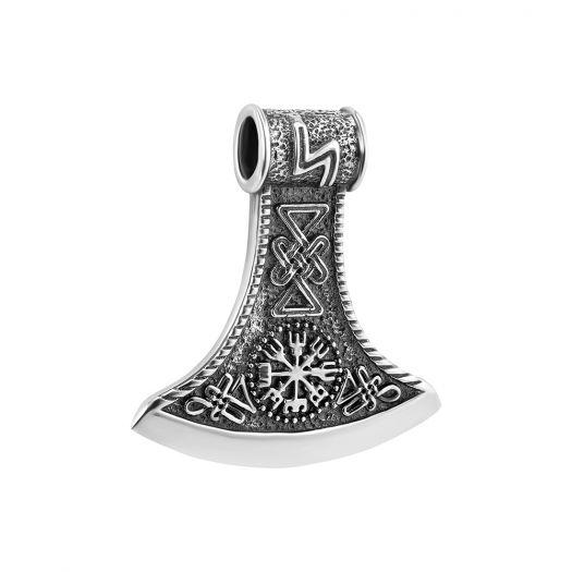 Серебряная подвеска Секира Перуна