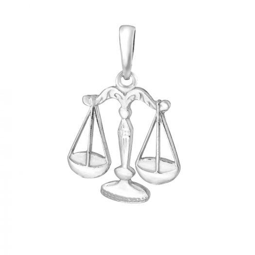 Серебряная подвеска Весы
