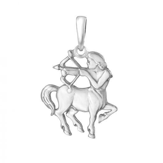 Срібна підвіска Стрілець