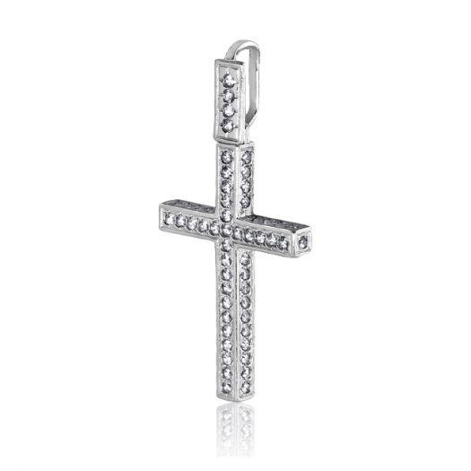 Серебряный крестик Жозефина