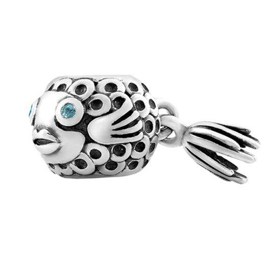 Срібний шарм Рибка
