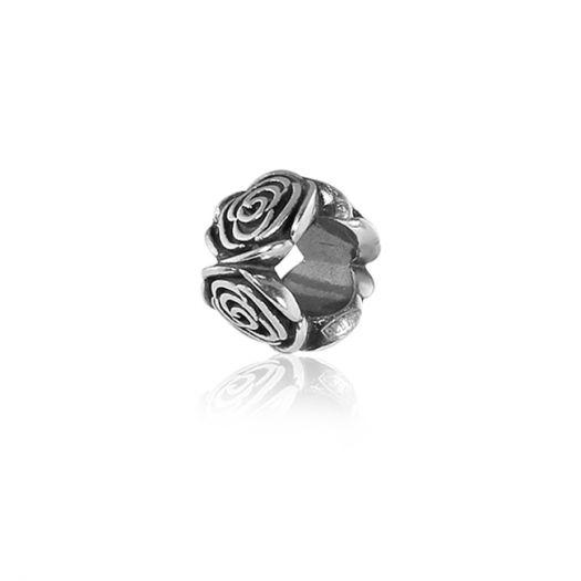 Срібний шарм Троянда
