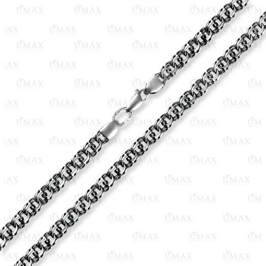 Срібний браслет Бісмарк Московський з чорнінням