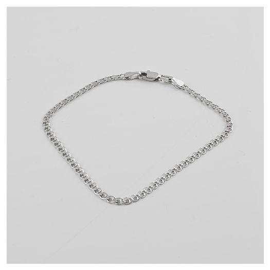 Срібний браслет якір Дастер