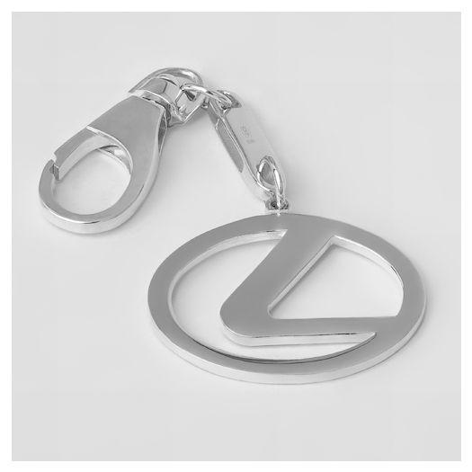 Серебряный брелок для автомобиля Лексус
