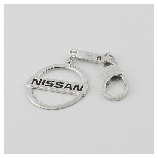 Серебряный брелок для автомобиля Ниссан